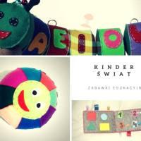 Kinder Świat czyli filcowe zabawki edukacyjne